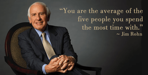 good friends jim rohn quote