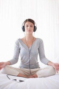 tipos de meditação - meditação guiada
