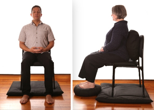 Types of meditation - zazen chair
