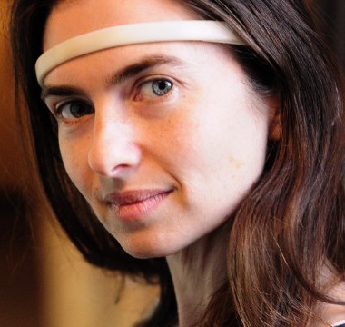 Ariel Garten with muse headband