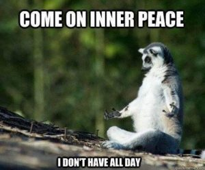 come one inner peace i dont have all day live and dare