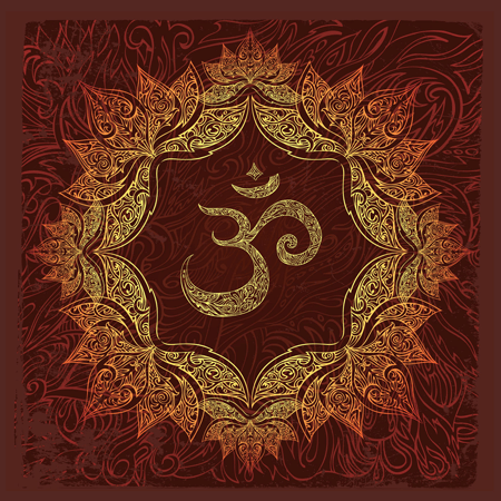yoga for life om illustration
