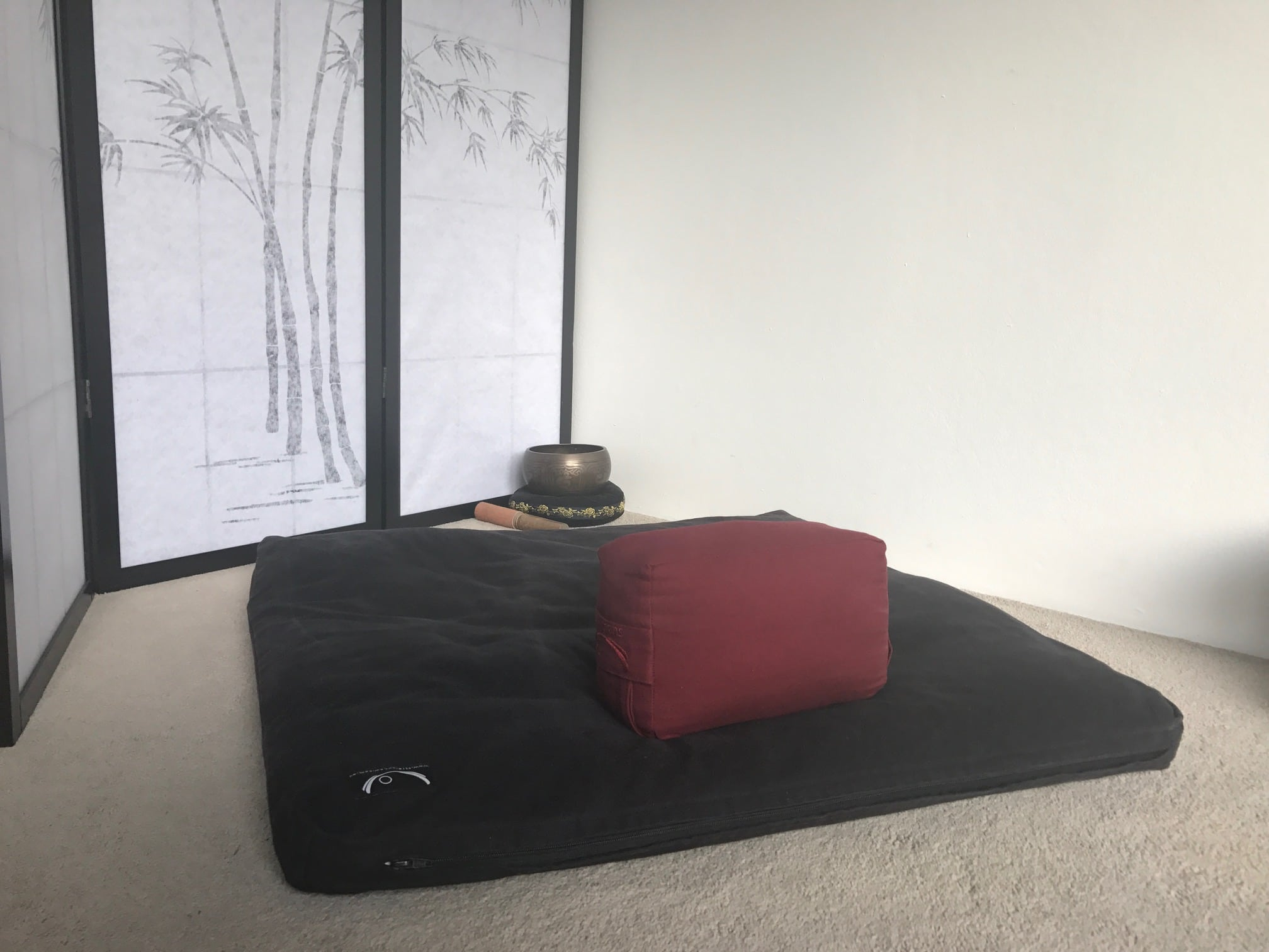 In This Posture You Will Typically Use A Zafu (first Two Images), Or A  Bolster/gomden (third Image). You Can Also Use A Yoga Block On Its Edge ...