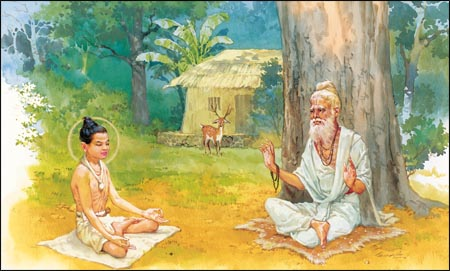 History of meditation in Yoga and in the Vedas