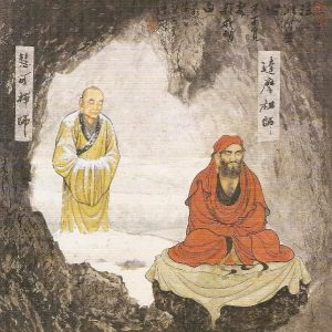 History of meditation in Zen Buddhism