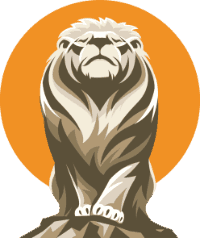 live and dare lion icon